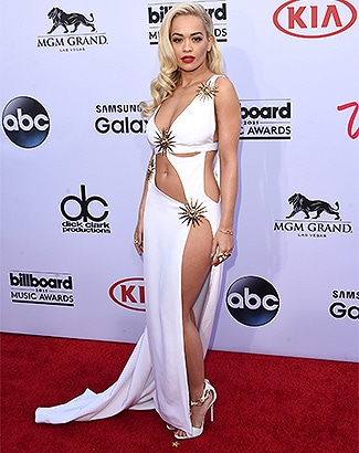 LAS VEGAS, NV - MAY 17: Singer Rita Ora attends the 2015 Billboard Music Awards at MGM Grand Garden Arena on May 17, 2015 in Las Vegas, Nevada. (Photo by Jason Merritt/Getty Images)