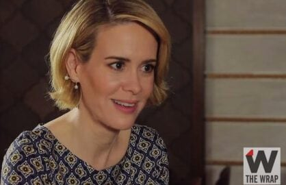 Sarah Paulson Drinking with the Stars Emmys copy