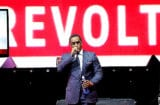 NEW YORK, NY - APRIL 22: Sean 'Diddy' Combs speaks at the REVOLT TV First Annual Upfront presentation at Marquee on April 22, 2014 in New York City. (Photo by Dimitrios Kambouris/Getty Images for REVOLT TV)