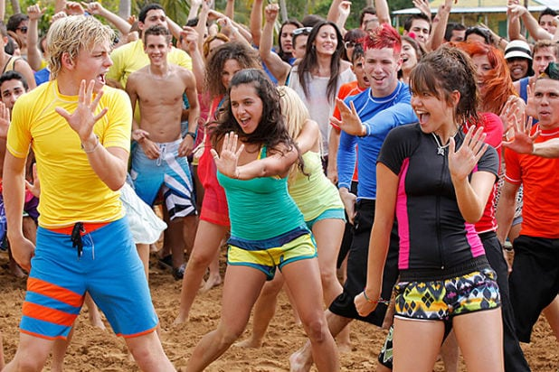 Break beach bumming for teen