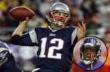 Tom Brady; Ray Rice, inset (Getty Images)