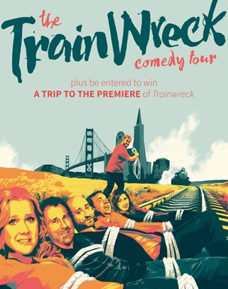 Judd Apatow TrainWreck comedy tour