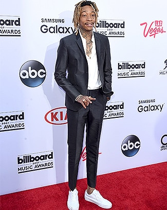LAS VEGAS, NV - MAY 17: Rapper Wiz Khalifa attends the 2015 Billboard Music Awards at MGM Grand Garden Arena on May 17, 2015 in Las Vegas, Nevada. (Photo by Jason Merritt/Getty Images)