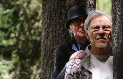 Michael Caine and Harvey Keitel in Youth