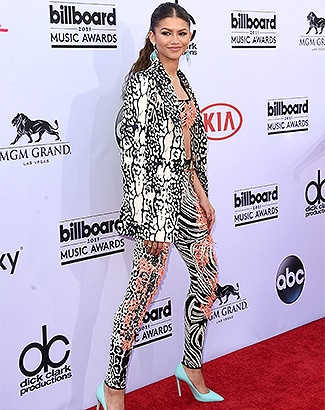 LAS VEGAS, NV - MAY 17: Actress-singer Zendaya attends the 2015 Billboard Music Awards at MGM Grand Garden Arena on May 17, 2015 in Las Vegas, Nevada. (Photo by Jason Merritt/Getty Images)