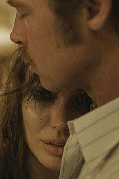 "Angelina Jolie Pitt and Brad Pitt in ""By the Sea"""