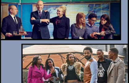 "Starz series ""Blunt Talk,"" ""Survivor's Remorse"""