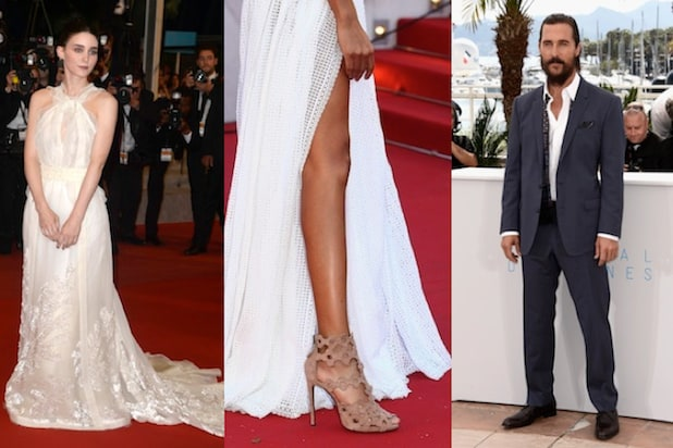 Rooney Mara, Matthew McConaughey and Cannes heels