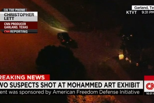 Gunman Tweeted Before Opening Fire at Muhammad Cartoon Contest 'May