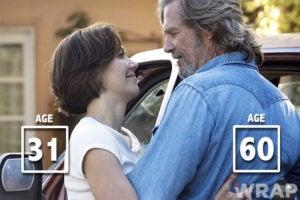 Jeff Bridges and Maggie Gyllenhaal Crazy Heart