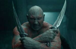 Dave Bautista Guardians of the Galaxy vol 2 family