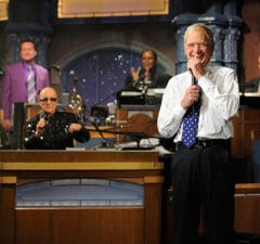 """""""Late Show With David Letterman"""" final show (CBS)"""