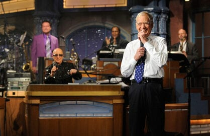 """Late Show With David Letterman"" final show (CBS)"