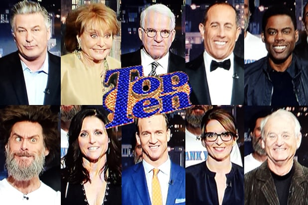 David Letterman final show Top 10 list (photos)
