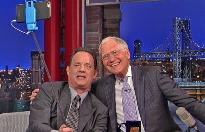 david letterman tom hanks