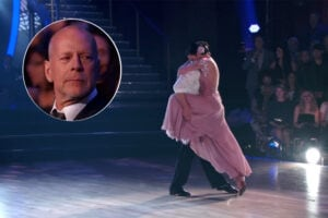 Dancing With the Stars, Bruce Willis, Rumer Willis, Val Chmerkovskiy (ABC)
