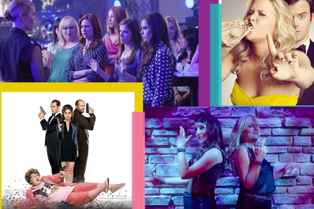 Pitch Perfect 2, Trainwreck, Sisters, Spy