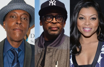 Arsenio Hall, Spike Lee,Taraji P. Henson (Getty)