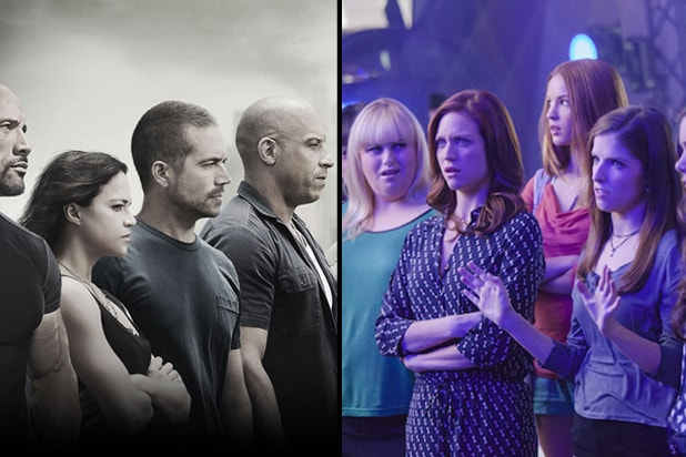 "Universal's ""Furious 7"" and ""Pitch Perfect 2"""