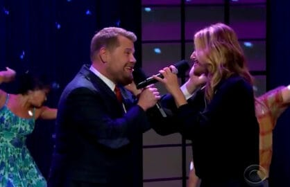 James Corden Idina Menzel