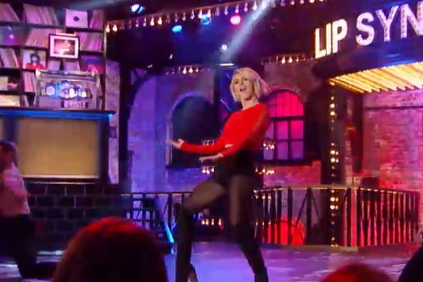 Julianne Hough Sexes Up Andy Samberg Lonely Island Track On Lip
