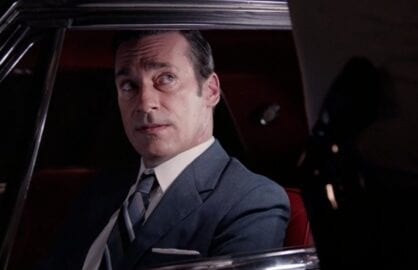 "Jon Hamm on ""Mad Men"""