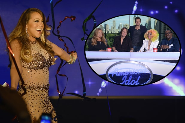 Mariah Carey, American Idol judges panel