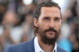Matthew McConaughey at Cannes