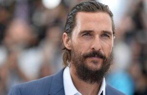 Matthew McConaughey at Cannes