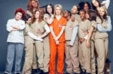"The cast of Netflix series ""Orange Is the New Black"""