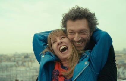 Emmanuelle Bercot and Vincent Cassel in Mon Roi