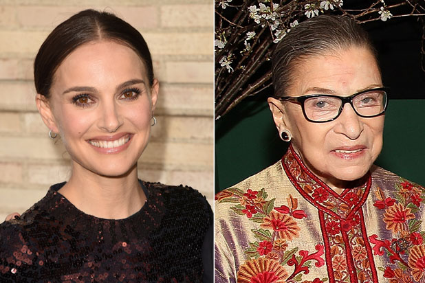 Natalie Portman, Ruth Bader Ginsberg (Getty Images)