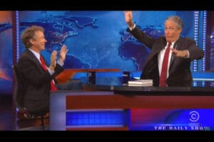 "Rand Paul visits Jon Stewart on ""The Daily Show"""