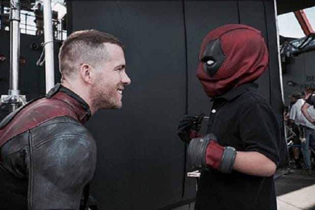 Deadpool Star Ryan Reynolds Breaks From Shooting To Visit Young Fan