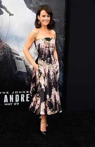 San Andreas premiere Carla Gugino (Frazer Harrison/Getty Images)