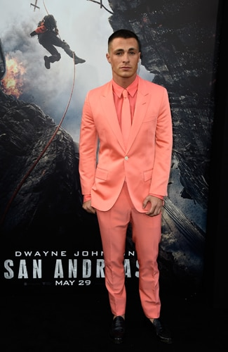 San Andreas premiere Colton Haynes (Frazer Harrison/Getty Images)