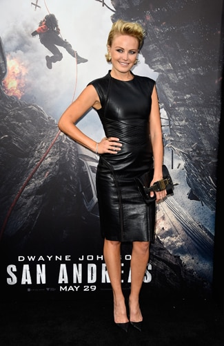 San Andreas premiere Malin Akerman (Frazer Harrison/Getty Images)