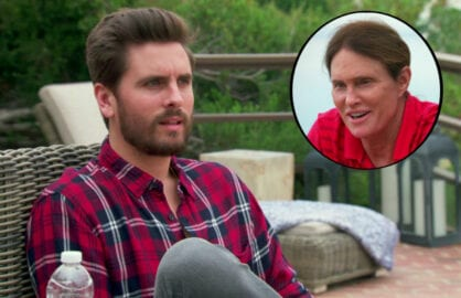 "Scott Disick, Bruce Jenner on ""Keeping Up With the Kardashians: About Bruce"" (E!)"