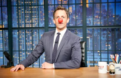 Seth Meyers Red Nose Day