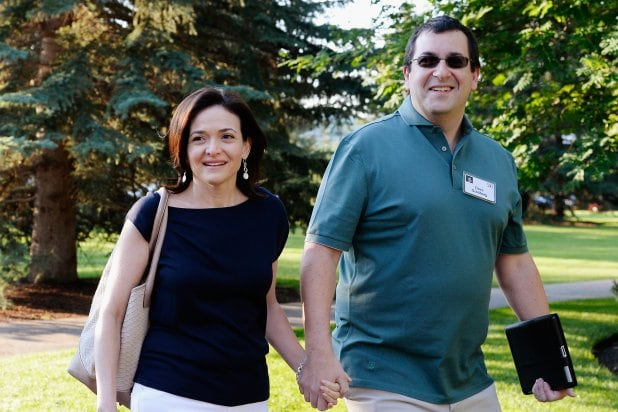 Sheryl Sandberg and Dave Goldberg