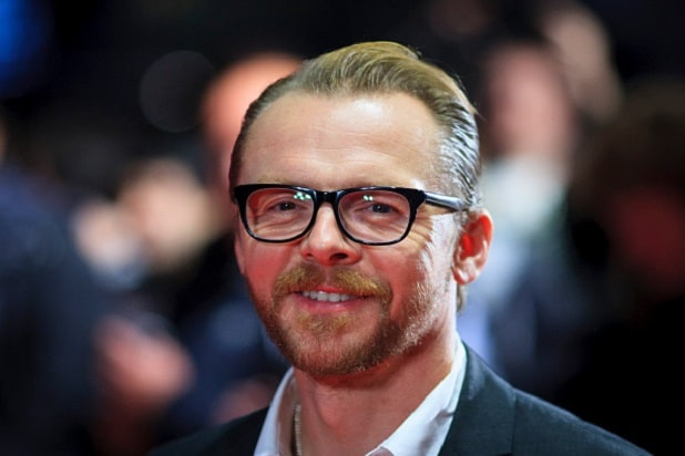 Nude pictures of simon pegg — photo 5