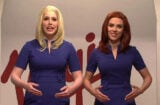 Scarlett Johansson hosts Saturday Night Live (NBC)