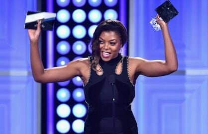 Taraji P. Henson at the Critics' Choice Television Awards