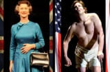 "Helen Mirren, ""The Audience""; Bradley Cooper, ""Elephant Man"" (British flag, iStock; US flag Getty)"