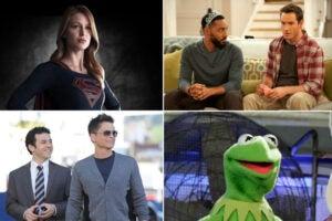"Melissa Benoist, ""Supergirl""; ""People Are Talking""; Kermit the Frog; ""The Grinder"""