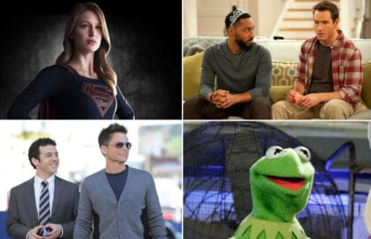 "Melissa Benoist, ""Supergirl""; ""People Are Talking""; Kermit the Frog; ""The Grinder"""