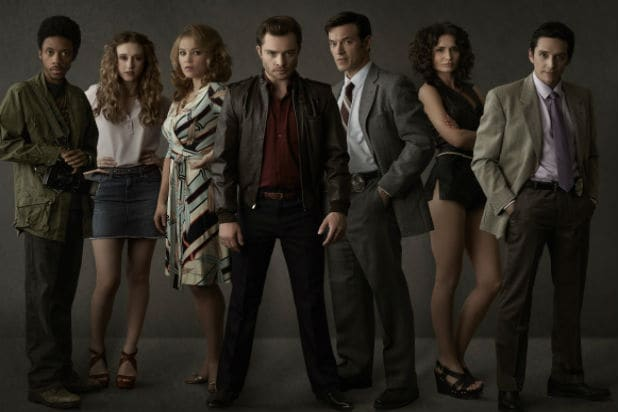 "The cast of ""Wicked City"""