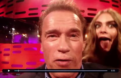 Arnold Schwarzenegger Graham Norton