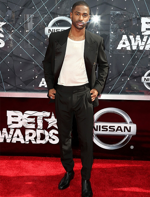 LOS ANGELES, CA - JUNE 28: Rapper Big Sean attends the 2015 BET Awards at the Microsoft Theater on June 28, 2015 in Los Angeles, California. (Photo by Frederick M. Brown/Getty Images for BET)