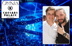 Steve Angello (right, with Martin Garrix), who previously had residencies at the SLS and Wynn Properties, has a new exclusive home in Las Vegas at Omnia in Caesar's Palace. (Getty Images; Powers Imagery)